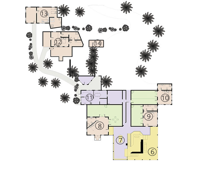 Main House Floor Plan